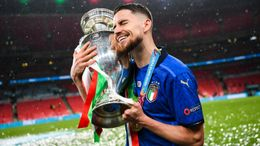 Jorginho was oustanding throughout Italy's successful Euro 2020 campaign