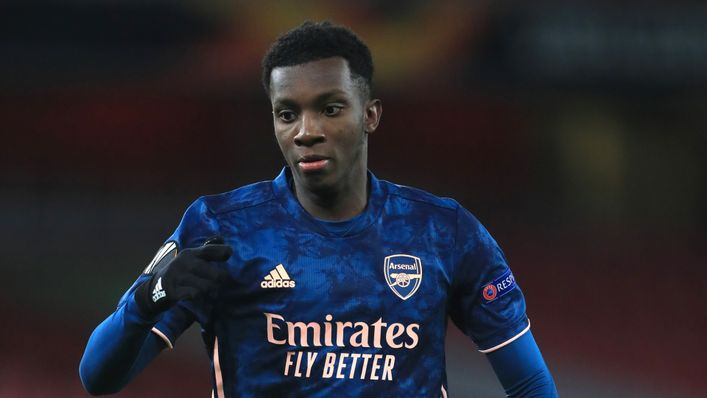 Eddie Nketiah is wanted by new Crystal Palace boss Patrick Vieira