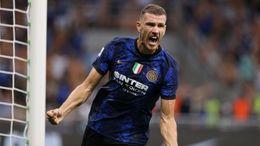 Veteran striker Edin Dzeko has made a flying start to life at Inter Milan
