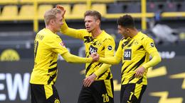 Borussia Dortmund have won five league games in a row