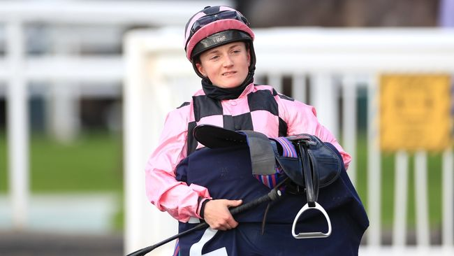 Hollie Doyle hoping to inspire more this week
