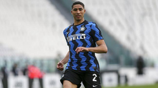 Paris Saint-Germain parted with £51.3million to sign Inter Milan star Achraf Hakimi