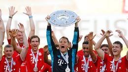 Bayern Munich are bidding to make it 10 Bundesliga titles in succession
