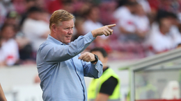 Barcelona coach Ronald Koeman has the unenviable job of trying to formulate a winning team without Lionel Messi