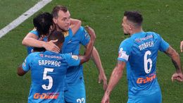 Russian champions Zenit Saint Petersburg will be looking to cause a shock at Stamford Bridge