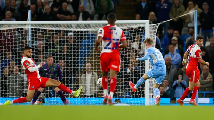 Cole Palmer finds the back of the net against Wycombe