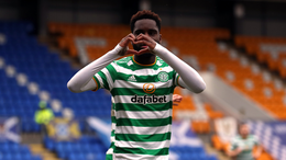 Odsonne Edouard signed for Celtic while Brendan Rodgers was manager at Parkhead