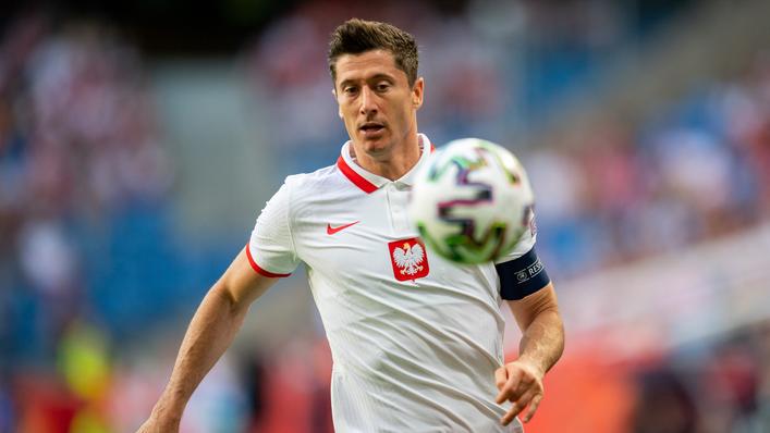 Robert Lewandowski scored 41 times for Bayern Munich in 2020-21