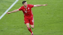 Robert Lewandowski scored 41 times for Bayern Munich last season
