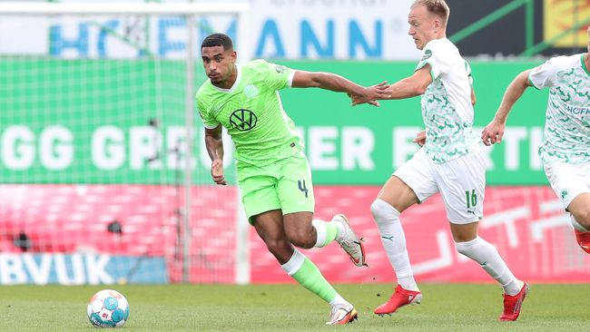 Maxence Lacroix was part of a Wolfsburg team who finished fourth in the Bundesliga