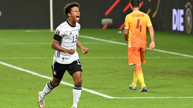 Karim Adeyemi already has an international goal to his name for Germany