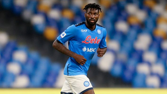 New Napoli arrival Andre-Frank Zambo Anguissa impressed in the Premier League with Fulham last season