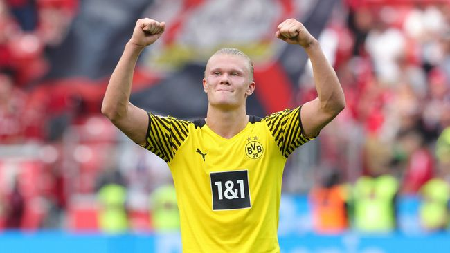 Erling Haaland will want to drive Borussia Dortmund to the latter stages of the Champions League