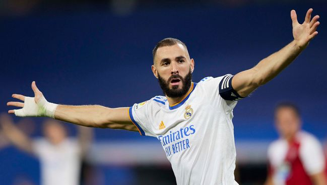 Karim Benzema is looking to become the Champions League's fourth-highest scorer