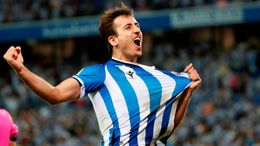 Mikel Oyarzabal already has six LaLiga goals this season and will be looking to fire Real Sociedad into top spot on Saturday