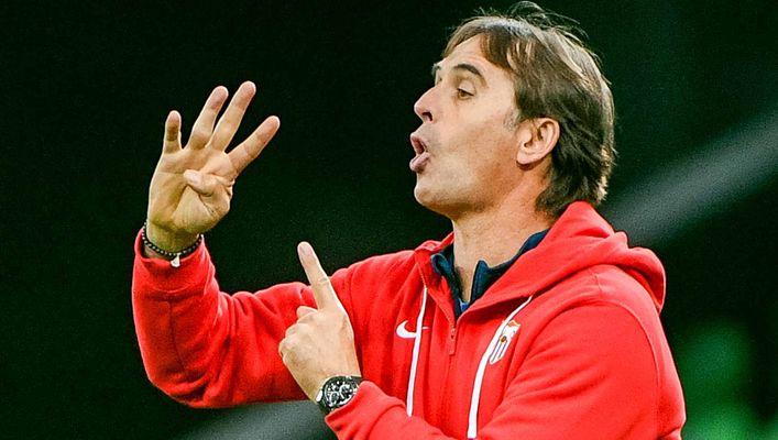 Julen Lopetegui's Sevilla are close to securing a spot in next season's Champions League