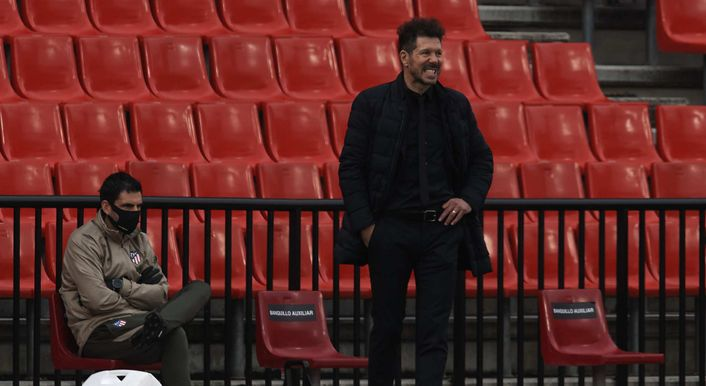 Diego Simeone knows his Atletico Madrid side are in danger of throwing the LaLiga title away