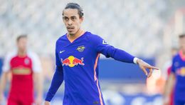 Yussuf Poulsen will look to end his goalscoring drought when RB Leipzig face Hoffenheim on Friday