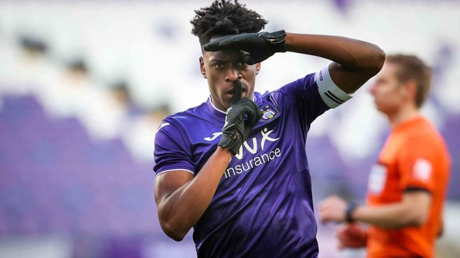 Arsenal have turned their attention to Anderlecht midfielder Albert Sambi Lokonga