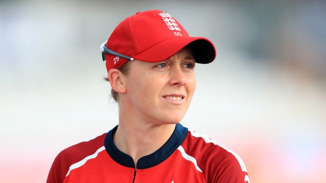 Heather Knight is disappointed England's only home Test in 2021 will be played on a used pitch
