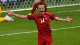 Mikkel Damsgaard was in fine form as Denmark reached the semi-finals at Euro 2020