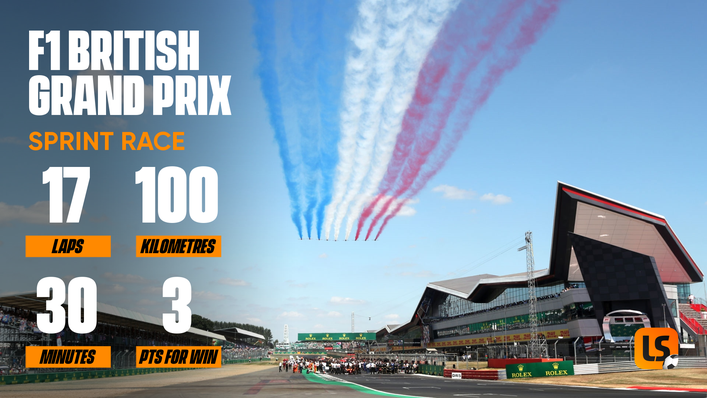 The 2021 British Grand Prix will feature Formula 1's first ever Sprint race