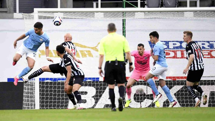 Ferran Torres' inventive opening goal against Newcastle was one of the goals of last season