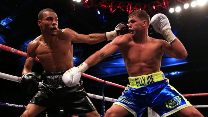 Chris Eubank Jr and Billy Joe Saunders traded leather back in 2014