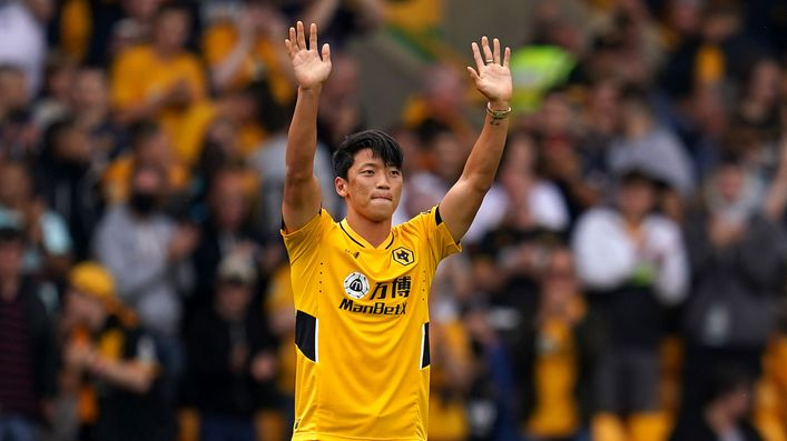 Hwang Hee-Chan will be looking for his second goal in as many games for Wolves