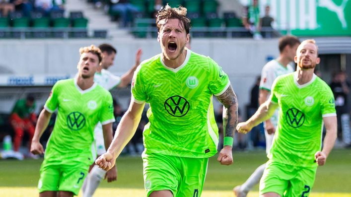Wolfsburg talisman Wout Weghorst will be looking to get one over his former manager Oliver Glasner this weekend