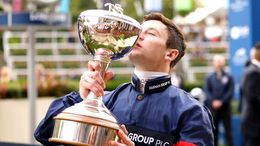Oisin Murphy paid tribute to his support group as he managed to secure a third straight Champion Jockey title