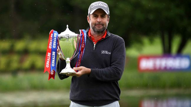 Richard Bland was a popular winner of the British Masters on Saturday