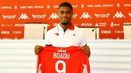Monaco's Myron Boadu is in the spotlight ahead of Monaco's clash with Shakhtar Donetsk