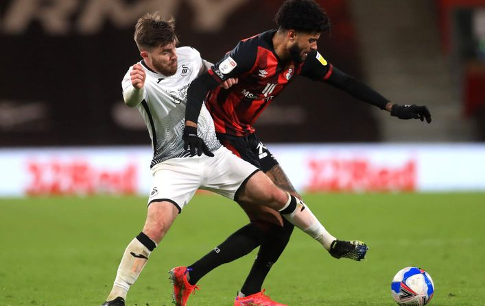 Philip Billing continues to impress in the middle of the park for Bournemouth