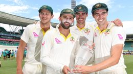 Aussie bowlers Josh Hazlewood, Nathan Lyon, Mitchell Starc and Pat Cummins have once again denied knowledge of ball-tampering in 2018