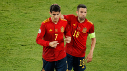 Alvaro Morata came under fire for his part in Spain's goalless draw with Sweden on matchday one
