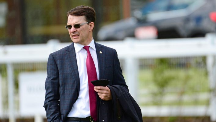 Aidan O'Brien is waiting to see whether St Mark's Basilica will be fit enough to run in the Prix de l'Arc de Triomphe