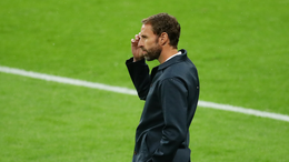 Gareth Southgate looks on as England struggle in their goalless draw with Scotland