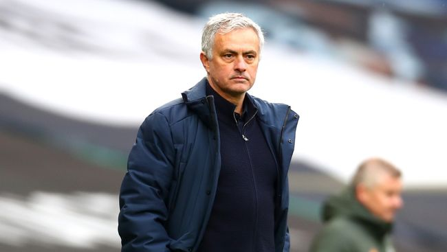 Jose Mourinho's time as Tottenham boss has come to an end