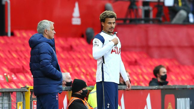 Jose Mourinho was publicly critical of players such as Dele Alli