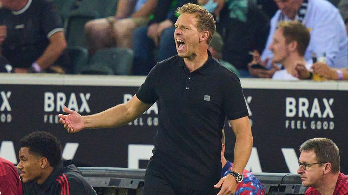 Julian Nagelsmann will be looking to get Bayern Munich's Bundesliga campaign up and running when they take on Koln