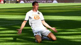 Sven Botman celebrates scoring in Lille's 3-3 opening day draw with Metz in Ligue 1