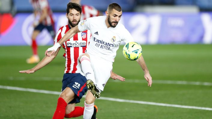 Karim Benzema's goals have kept Real Madrid in the title race