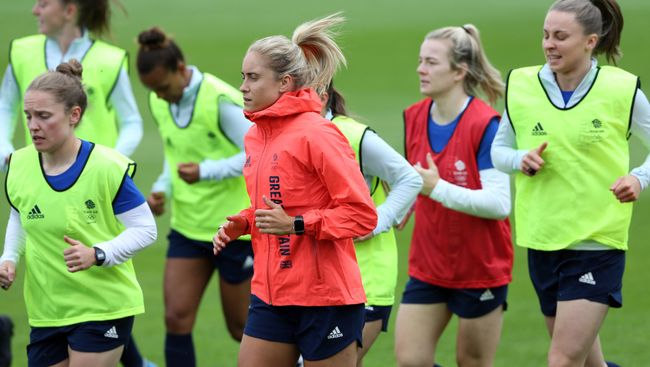 Steph Houghton and Team GB's women's football squad begin their bid for gold on Wednesday morning