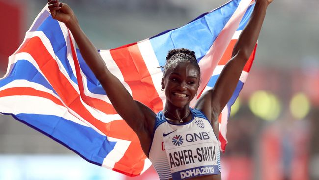 Dina Asher-Smith will be chasing gold in the 100m and 200m in Tokyo