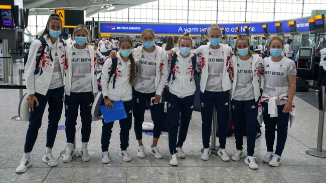 Team GB women's football team are competing in the Olympics for just the second time