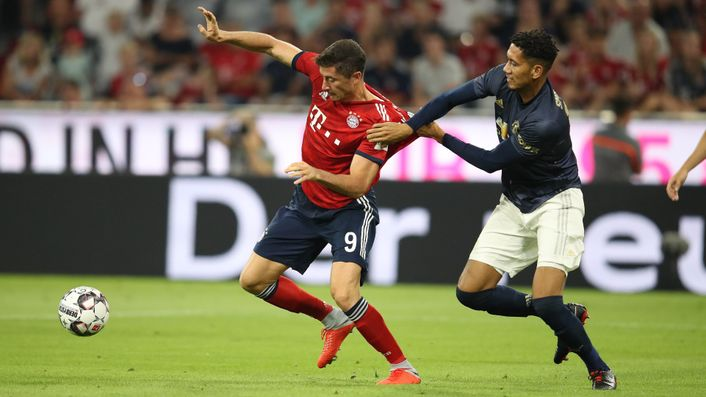 Robert Lewandowski could line up for Manchester United rather than against them