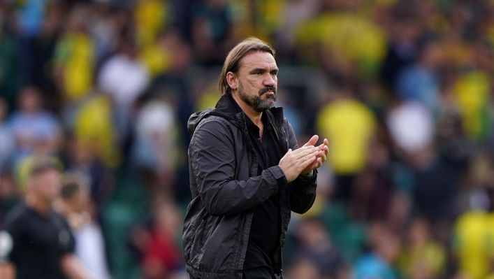 Daniel Farke is under pressure after Norwich suffered their fifth successive Premier League defeat