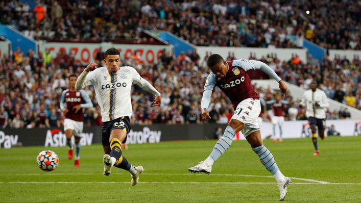 Leon Bailey showed a ruthless edge to put Aston Villa 3-0 up against Everton