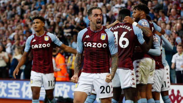 Leon Bailey will form a new-look Aston Villa attack with Danny Ings (centre)